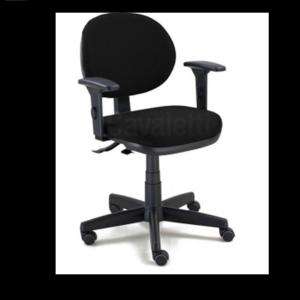 Cadeira Executiva Ergonômica Sistema SRE (Back System) NR17 06 anos de garantia - Revest crepe preto